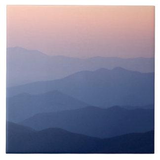 Los E.E.U.U., Tennessee, nacional de Great Smoky M Azulejo Cuadrado Grande
