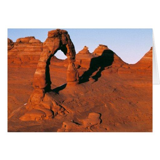 Los E.E.U.U., Utah, arquean a NP. El arco delicado Tarjeta De Felicitación