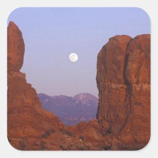 Los E.E.U.U., Utah, arquean a NP, Luna Llena que Pegatina Cuadrada