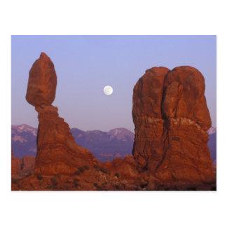 Los E.E.U.U., Utah, arquean a NP, Luna Llena que Postal