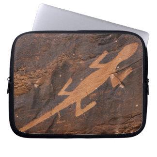 Los E.E.U.U., Utah. Arte prehistórico de la roca d Fundas Computadoras