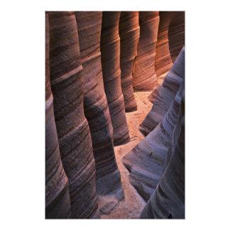 Los E.E.U.U., Utah, Escalante. Repetición de la pi Fotografías