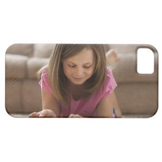Los E.E.U.U., Utah, Lehi, chica (10-11) que miente Funda Para iPhone 5 Barely There