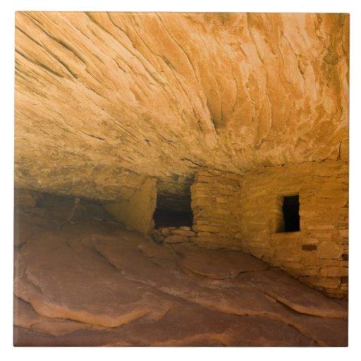 Los E.E.U.U., Utah, Mesa del cedro, barranco de la Azulejo