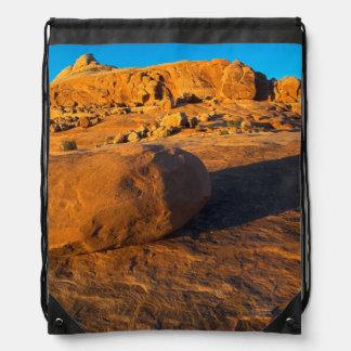 Los E.E.U.U., Utah, Moab, piedra arenisca Mochila
