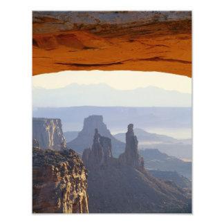 Los E.E.U.U., Utah, parque nacional de Canyonlands Cojinete