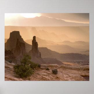 LOS E.E.U.U.; Utah; Parque nacional de Canyonlands Impresiones