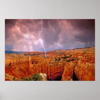 Los E.E.U.U., Utah, parque nacional del barranco d Posters
