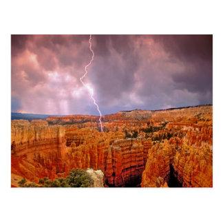 Los E.E.U.U., Utah, parque nacional del barranco Postal