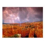Los E.E.U.U., Utah, parque nacional del barranco Tarjetas Postales