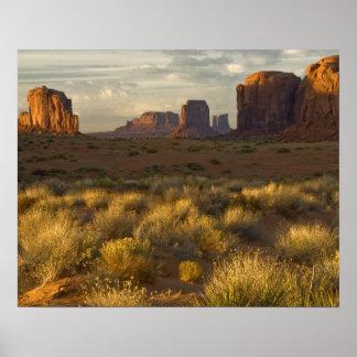 Los E.E.U.U., Utah, parque nacional del valle del  Póster