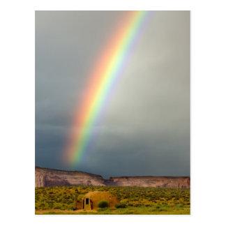 Los E.E.U.U., Utah, parque tribal de Navajo del Tarjeta Postal