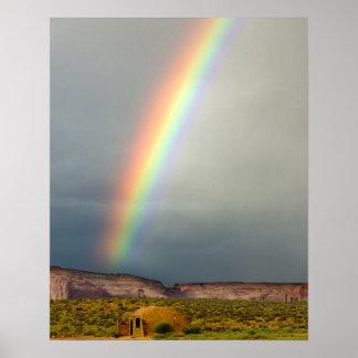 Los E.E.U.U., Utah, parque tribal de Navajo del va Posters