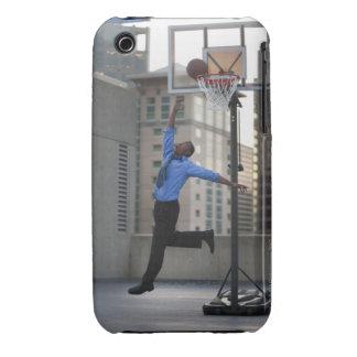 Los E.E.U.U., Utah, Salt Lake City, hombre de Case-Mate iPhone 3 Protectores