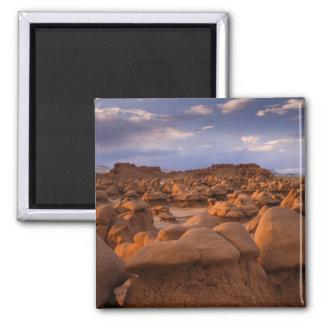 LOS E.E.U.U.; Utah. Vista del parque de estado del Imán Cuadrado
