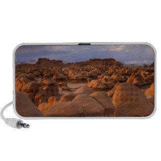 LOS E.E.U.U.; Utah. Vista del parque de estado del iPod Altavoces