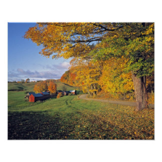 Los E.E.U.U., Vermont, granja de Jenne. La caída v Impresiones