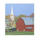 Los E.E.U.U., Vermont, Peacham. Un granero y un bl Bloc