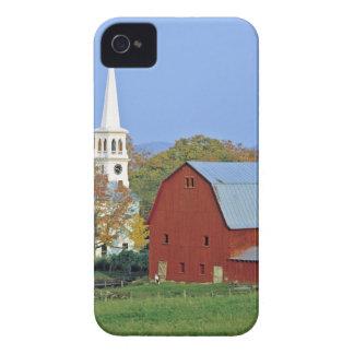 Los E.E.U.U., Vermont, Peacham. Un granero y un iPhone 4 Case-Mate Protectores