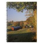 Los E.E.U.U., Vermont, Woodstock del sur, granja d Cuadernos