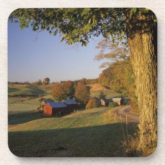 Los E.E.U.U., Vermont, Woodstock del sur, granja d Posavasos De Bebidas