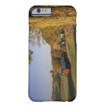 Los E.E.U.U., Vermont, Woodstock del sur, granja Funda De iPhone 6 Barely There