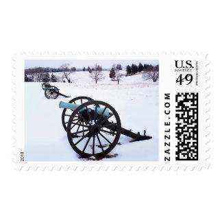 Los E.E.U.U., Virginia, campo de batalla del Sello Postal