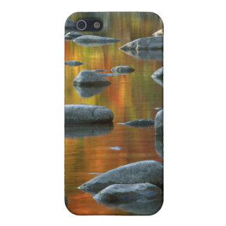 Los E.E.U.U., Virginia Occidental, rocas Spruce 3 iPhone 5 Carcasas