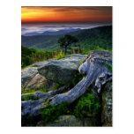 Los E.E.U.U., Virginia, parque nacional de Postal