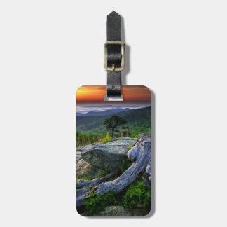 Los E.E.U.U., Virginia, parque nacional de Shenand Etiquetas Maletas