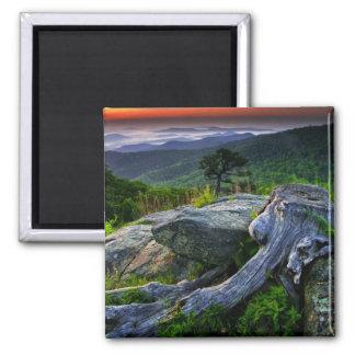 Los E.E.U.U., Virginia, parque nacional de Shenand Imán Cuadrado