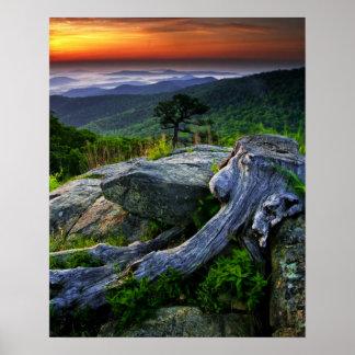 Los E E U U Virginia parque nacional de Shenand Posters
