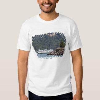 LOS E.E.U.U., WA. Transbordadores del estado de Polera
