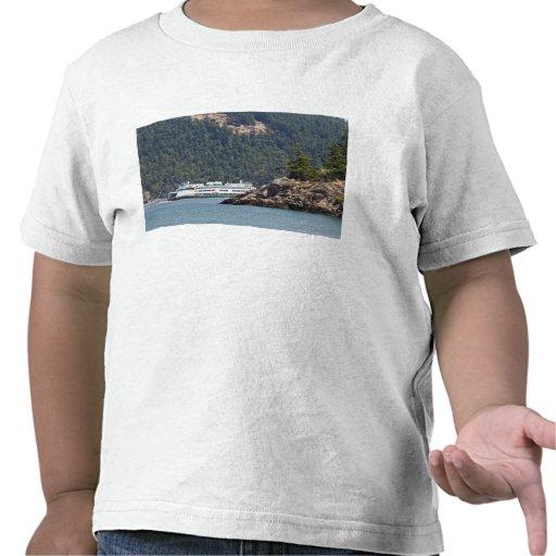 LOS E.E.U.U., WA. Transbordadores del estado de Wa Camiseta
