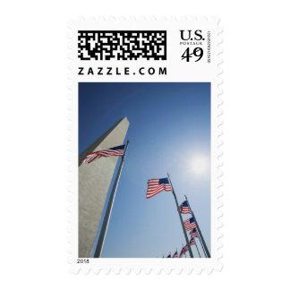 Los E.E.U.U., Washington, anillo de las banderas Envio