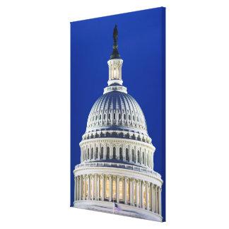 Los E.E.U.U., Washington, D.C. Close-up del capito Impresiones En Lienzo Estiradas