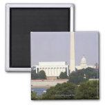 Los E.E.U.U., Washington DC, monumento de Washingt Imanes