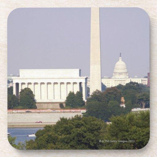 Los E.E.U.U., Washington DC, monumento de Washingt Posavasos De Bebidas