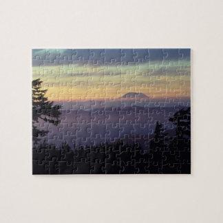 Los E.E.U.U., Washington. El Monte Saint Helens vi Puzzle