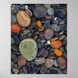 Los E.E.U.U., Washington, isla de López, playa de Póster
