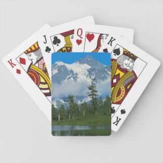Los E.E.U.U., Washington, parque nacional 10 de Baraja De Póquer