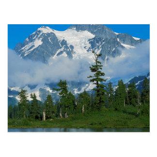 Los E.E.U.U., Washington, parque nacional 10 de Postal
