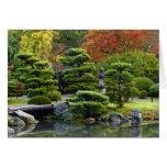 Los E.E.U.U., Washington, Seattle, arboreto, japon Tarjeta De Felicitación
