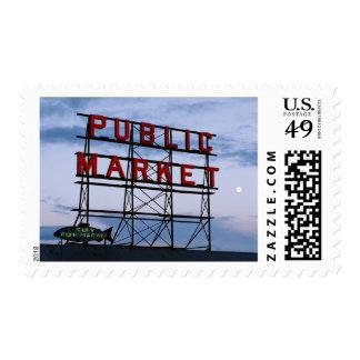 Los E.E.U.U., Washington, Seattle, mercado Timbres Postales