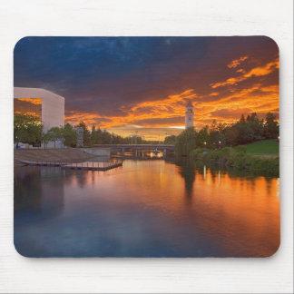 Los E.E.U.U., Washington, Spokane, parque de la Alfombrillas De Ratones