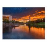 Los E.E.U.U., Washington, Spokane, parque de la Postal