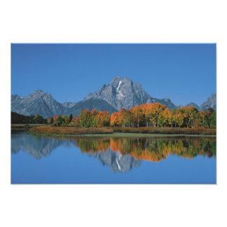 Los E.E.U.U., Wyoming, parque nacional magnífico d Fotografias