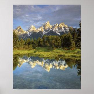 Los E.E.U.U., Wyoming, parque nacional magnífico d Posters