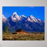 Los E.E.U.U., Wyoming, parque nacional magnífico d Impresiones