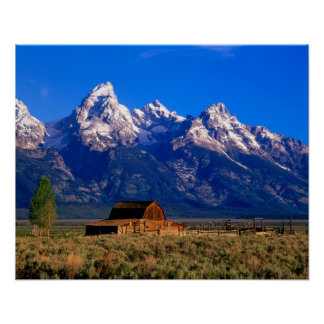 Los E E U U Wyoming parque nacional magnífico d Impresiones